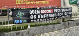 Seese no ato do movimento intersindical
