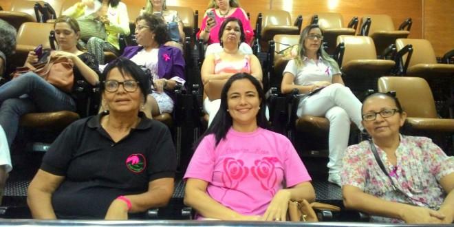 Enfermeiros participam de atividades alusivas ao Outubro Rosa