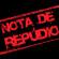 NOTA DE REPÚDIO!!!
