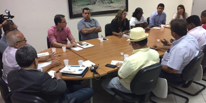 Direção do Seese participa da primeira reunião com o Prefeito Edvaldo Nogueira