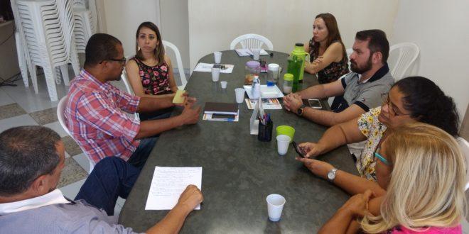 Direção do Seese se reúne com vereadores da situação da CMA