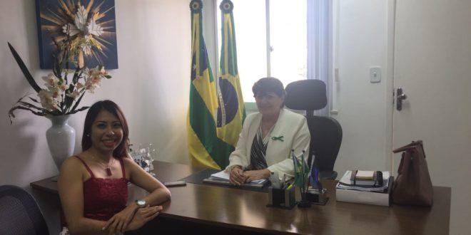 Em reunião com a deputada Maria Mendonça, direção do Seese pede uma audiência pública para debater sobre o atendimento nas redes de urgências