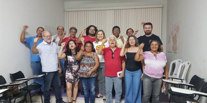 Direção do Seese participa de reunião na CTB para lançar campanha salarial 2017