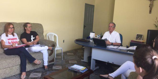 Em reunião, prefeito de Divina Pastora concede o retorno de alguns benefícios para os enfermeiros