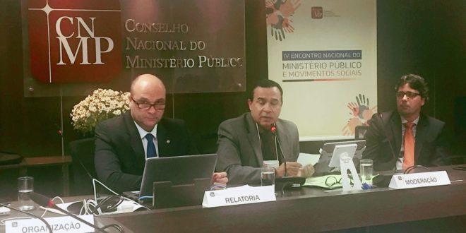FNE e Seese participam do IV Encontro Nacional do Ministério Público e Movimentos Sociais
