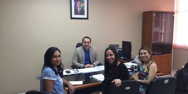 Direção do Seese se reúne com secretário da Seplog, Rosman Pereira