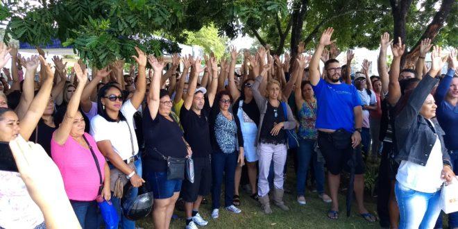Sem avanços nas negociações com a Gestão, enfermeiros servidores de Aracaju se mantém na greve