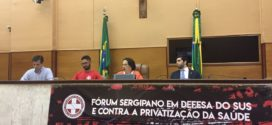 Fórum Sergipano em Defesa do SUS e Contra a Privatização da Saúde.