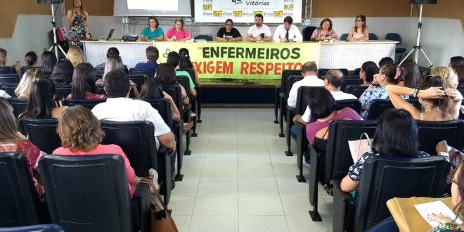 Enfermagem sergipana participa de assembleia para esclarecer dúvidas sobre a ação movida pelo CFM