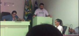 Direção do Seese faz explanações sobre a situação dos Enfermeiros na Câmara dos Vereadores de Poço Redondo