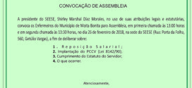 CONVOCAÇÃO DE ASSEMBLEIA – MOITA BONITA